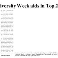 CCI Diversity Week Aids in Top 25 Goal